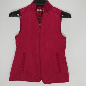 Talbots Quilted Corduroy Vest